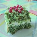 Leśny mech - ciasto ze...