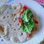 Tortilla z kurczakiem