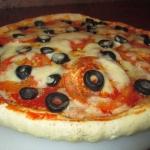 Pizza z salami i...