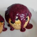 Jagodowe muffiny z...