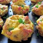 Jajeczne muffiny