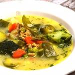 Warzywna zupa z cielecina...