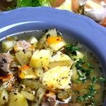 Zupa z koprem wloskim