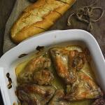 Pieczone skrzydelka w sos...