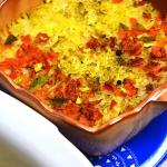 Zapiekany ryz do obiadu
