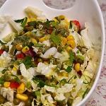 Salatka z kapusty pekinsk...