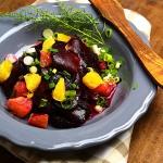 Salatka z czerwonych bura...