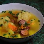 Zupa z kiszonego kalafior...