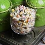 Salatka warzywna z ryzem