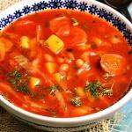 Pomidorowy kapuśniak z...