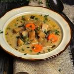 Zupa warzywna z kalarepa