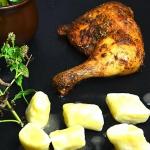 Ćwiartki kurczaka po ros...