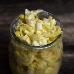 Salatka z pora do obiadu