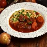 Zupa pomidorowa z chorizo