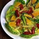 Sałatka z pomarańczami