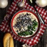 Śmietanowy sos grzybowy