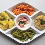 Zimowy obiad wegetariansk...