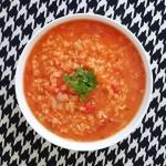 Zupa z czerwona soczewica...
