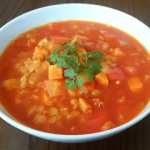Zupa z batatem i czerwona...