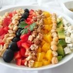 Cobb salad, Brodka w...