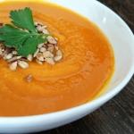 Weganska zupa-krem z dyni...