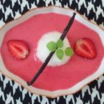 Pudding z truskawkowym...