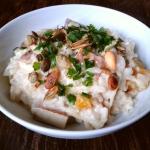 Risotto z tofu i dynią,...