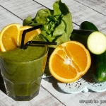 Zielone smoothie z salata...