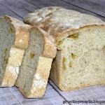 Chleb na drozdzach z oliw...