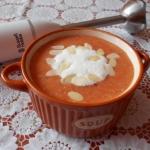 Pomidorowa zupa krem z mi...