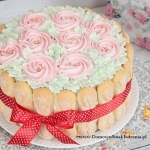 delikatny tort...
