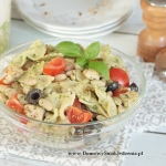 salatka z biala fasolka
