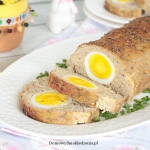 pieczen rzymska z jajkiem...