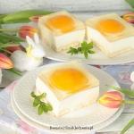 ciasto a la jajka sadzone...