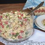 salatka makaronowa z szyn...