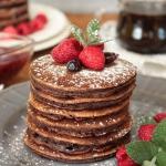 pancakes czekoladowe