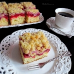 Ciasto Drozdzowe z Malina...
