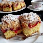Ciasto Drozdzowe ze Śliw...
