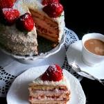 Tort Truskawkowy z Masa B...