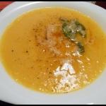 Zupa dyniowa z masłem...