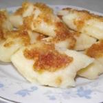 Kopytka z serem i ziemnia...