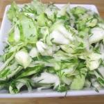 Zielona sałatka do...