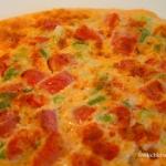 Omlet z pomidorami i...