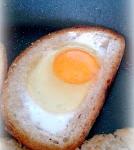 Jajko sadzone w grzance...