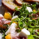 Salatka z pieczona brzosk...