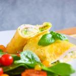 Omlet francuski z serem...