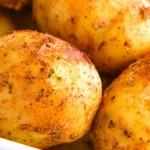 Jogurtowe ziemniaki...