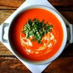Zupa krem z pomidorow i p...
