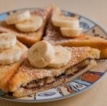 Tosty z bananami