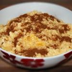 Pudding ryzowy z sosem wa...